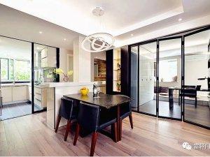 富轩门窗产品 铝合金折叠门效果图