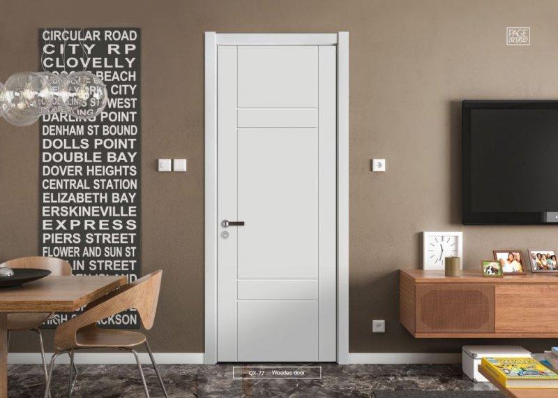 开开木门图片 现代风格家居装修效果图