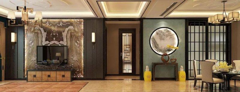 帝奥斯门窗图片 新中式木门效果图