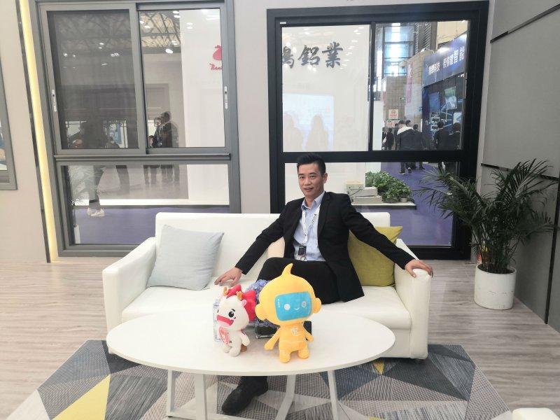 中国高档门窗-凤铝高端系统门窗潘树彬:为经销商提供全方位营销服务