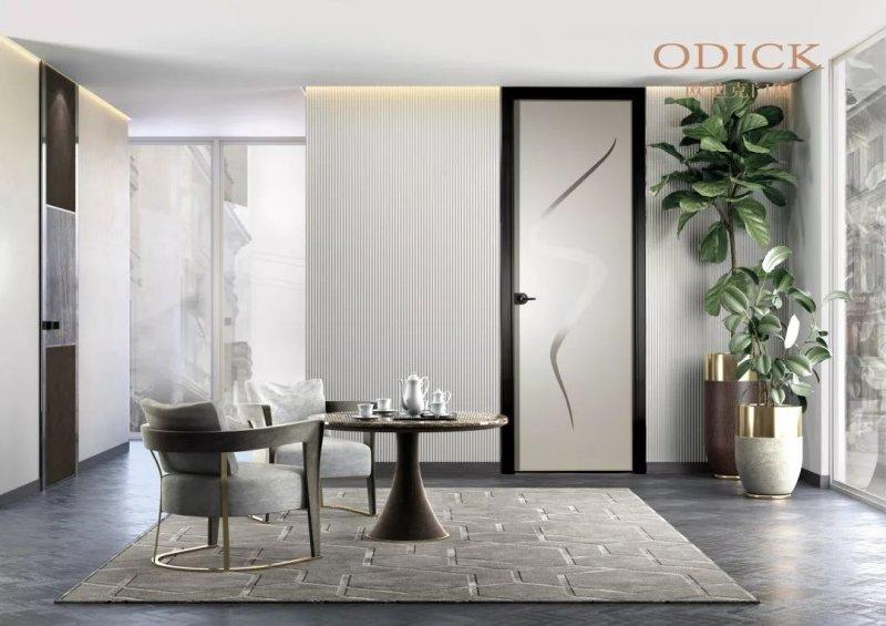 歐迪克門窗圖片 奧蘭卡系列平開門效果圖