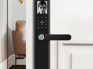 博克智能锁产品 全自动人脸识别指纹锁I7S图片