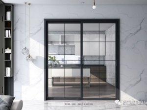 欧铂尼门窗图片 室内推拉门系列产品效果图