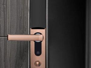 博克智能锁产品 自动滑盖电子锁I6S图片
