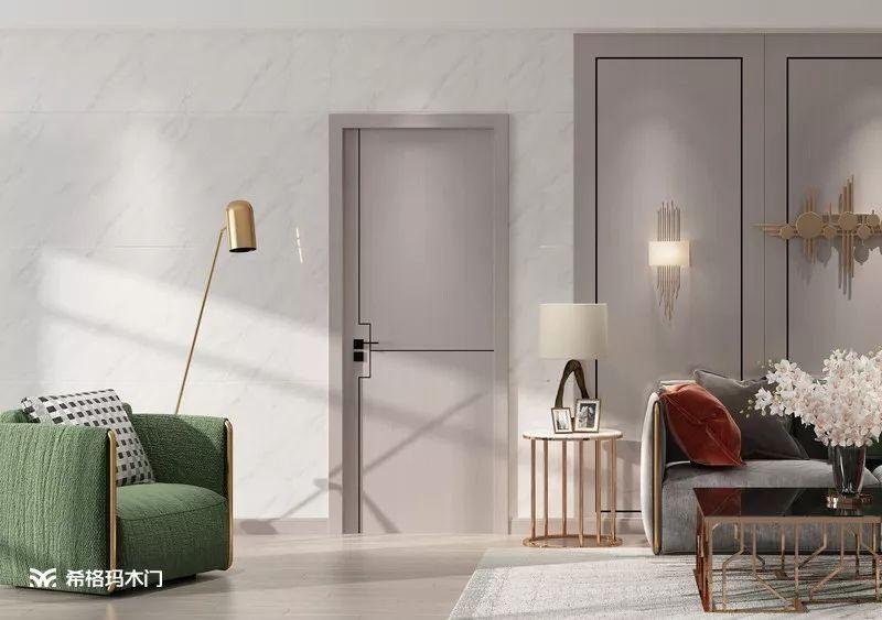 希格玛木门图片 现代简约风家居装修效果图