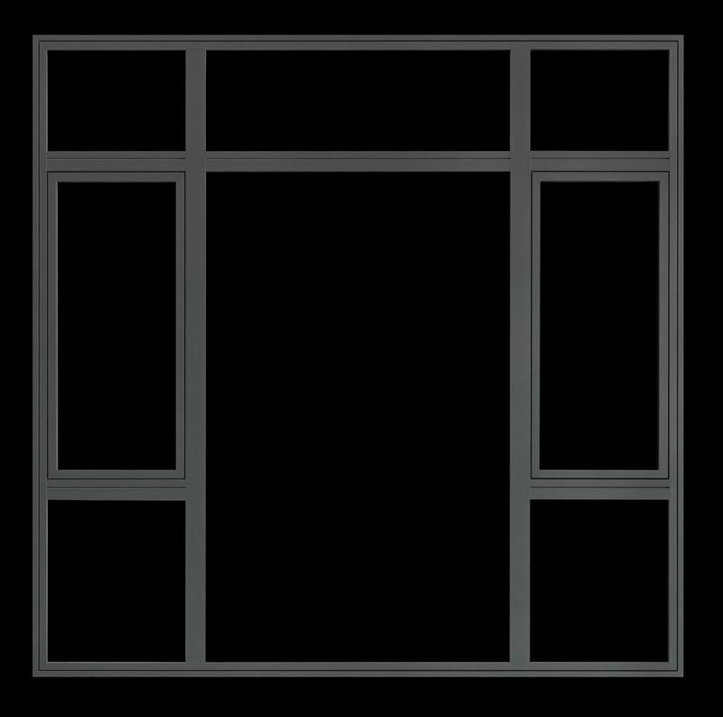 罗兰西尼门窗 圣马可II内开内倒系统窗系列装修效果图
