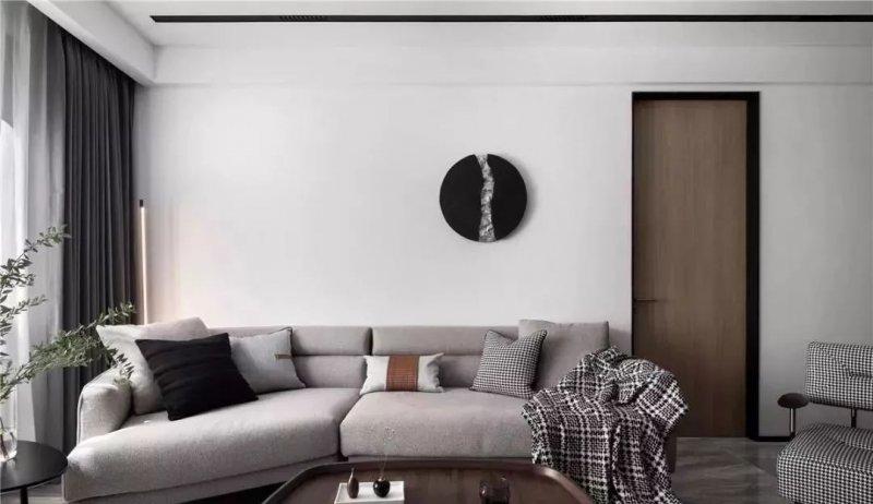 华溢木门图片 现代风格家居装修效果图