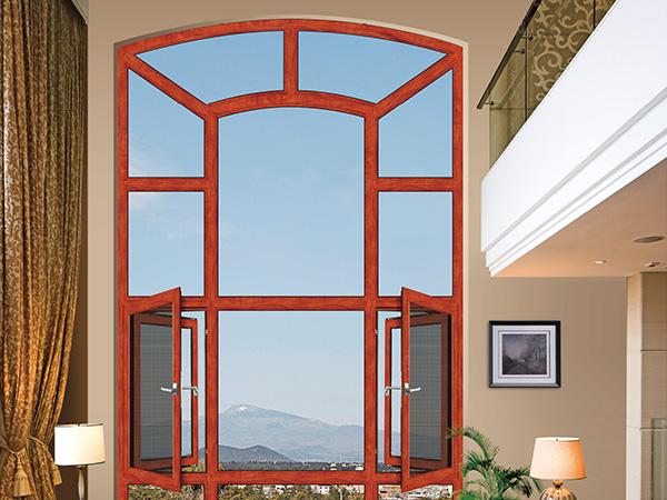 欧森堡门窗图片 爱丁堡系列断桥窗纱一体效果图