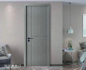 三唐木门图片 现代时尚风木门装修效果图