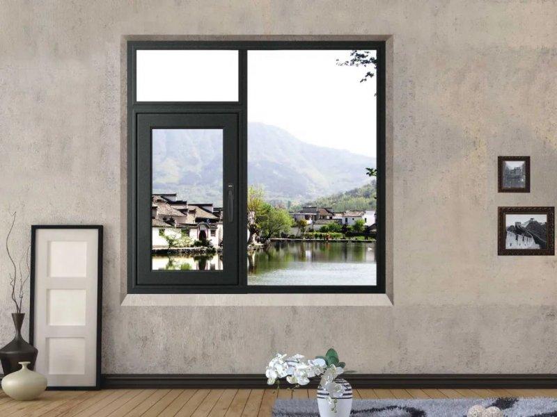 美之選門窗圖片 全新118斷橋平開窗效果圖