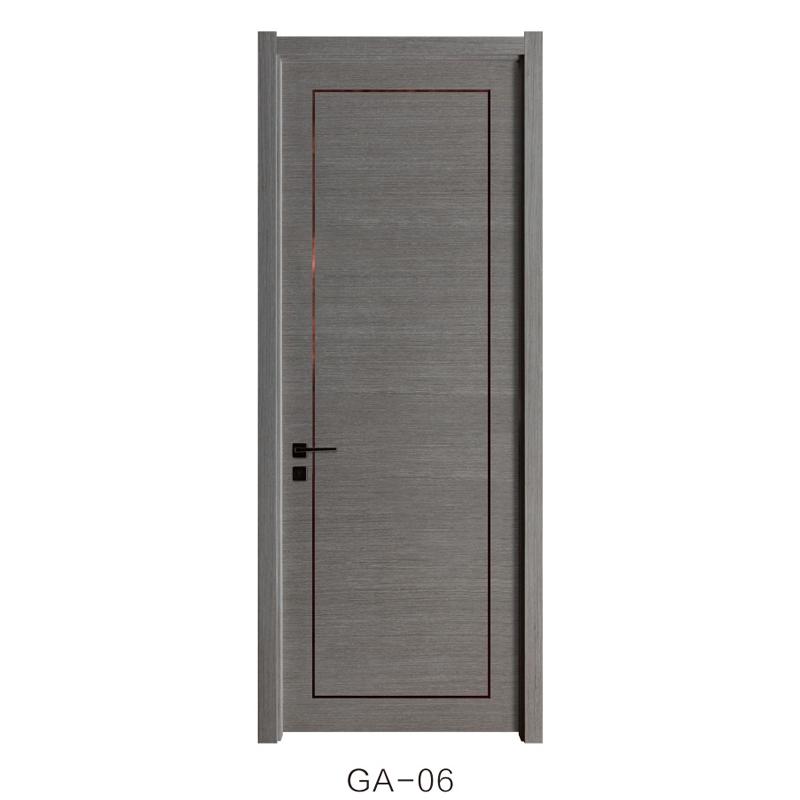 菁棠木門 烤漆門系列GA-06產品效果圖