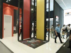 霍尔茨木门展会产品展示 木门产品及装修效果图